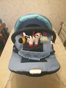 Magic-Roundabout-Baby-Vibrating-Bouncer-Rocker-New