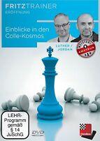 Chessbase Luther, Jordan - Einblicke In Den Colle-kosmos - Fritztrainer Neu Ovp