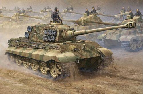 Trumpeter 1 16 King Tiger Sd.Kfz.182 II '2-in-1' (Henschel & Porsche Turret)