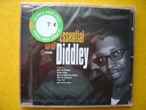 BO-DIDDLEY-essential-CD-neuf-sous-blister