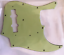 USA JB Pickguard Mint Green 3 Ply Montreux Selected Parts fits Jazz Bass ®