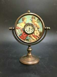 European-Style-Exquisite-Brass-Mechanical-Clock-Horologe-OSB31-g