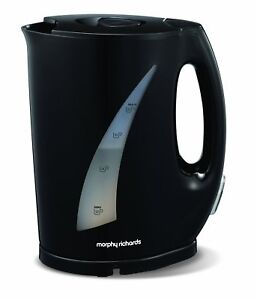 Morphy-Richards-Essentials-43486-1-7L-3kW-Cordless-Jug-Kettle-Black-NEW