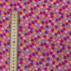 Poppies Ditsy Floral Flowers 100/% Cotton Rose /& Hubble Fabric Kids Skirt Dress
