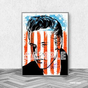 Elvis Presley Vintage Framed Large CANVAS PRINT A0 A1 A2 A3 A4 Sizes