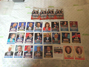 Decision-2016-Political-Trading-cards-LOT-of-24-Political-Republican-Democrat