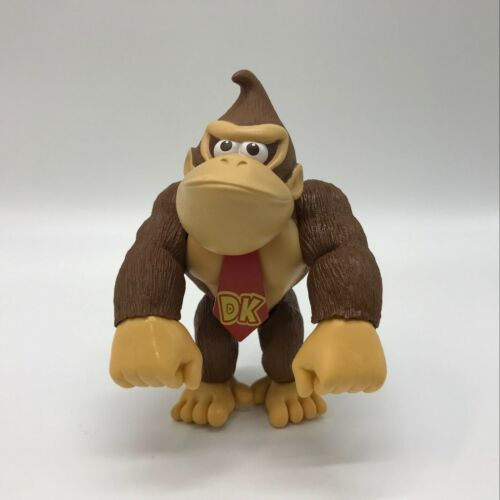 """Colletible Donkey Kong Doll PVC Plastic Figure Doll Toy 6/"""" New Super Mario Bros"""