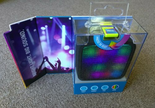 Jam HX-P460 Trance Mini LED Speaker New In Box Enjoy The Light Show Bluetooth