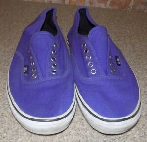Chaussures Purple Vans Size10 Mens Mens Vans nTTa8Pwx