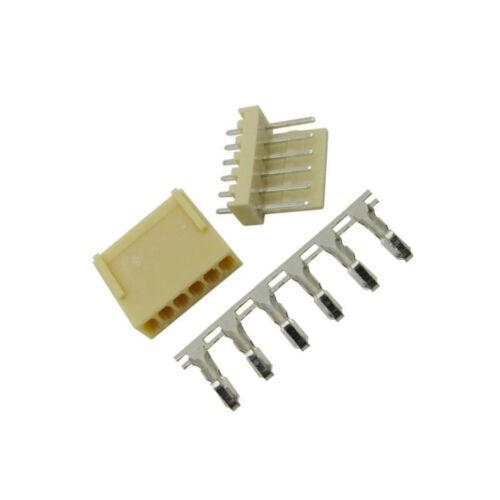 10PCS KF2510-6P 2.54mm Pin Header+Terminal+Housing Connector Kits NEW M