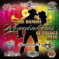 Various Artists - Las Bandas Romanticas De America 2016 [new Cd] on Sale