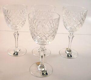 Set-of-4-Bayel-ORLEANS-Wine-Glasses