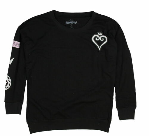Disney Kingdom Hearts A Scattered Dream Womens Crewneck Pullover Top Plus Size
