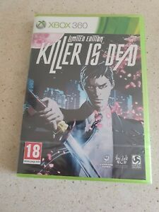 Killer is Dead Limited Edition Brand New and Sealed Microsoft Xbox 360 PAL