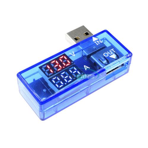 DC 5V USB Dual LED Display Current Voltage Volt Ammeter Charger Tester Meter