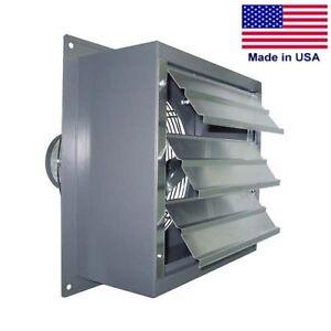 Image Is Loading Wall Exhaust Fan 360 Cfm 1 40 Hp