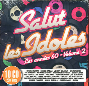 SALUT-LES-IDOLES-LES-ANNEES-60-VOLUME-2-10-CD-COMPILATION-NEUF-SOUS-CELLO