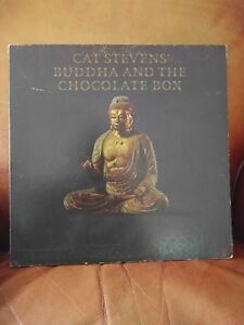 Cat-Stevens-034-Buddha-amp-The-Chocolate-Box-034-33-RPM-LP-A-amp-M-0698-1974