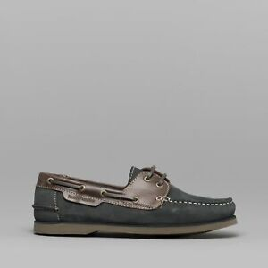 hush puppies blue shoes