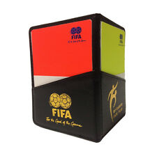 New! Soccer Referee Wallet with Red Card and Yellow Card