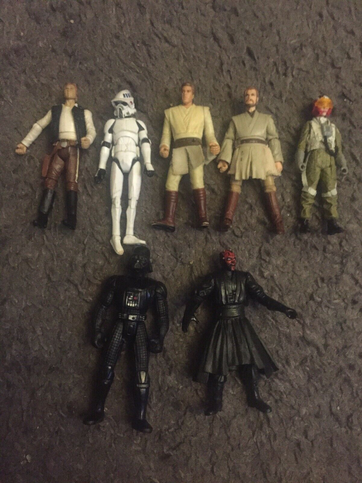 Figurine StarWars : lot figurines star wars vintage