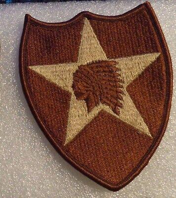 2 Infanterie Geschäftsbereich Dbdu Armee Aufnäher Ssi Dcu Wüste