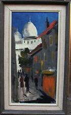 Louis Zelig 1922-1993, Gasse bei Sacre Coeur, um 1960