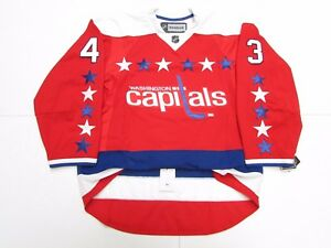 new styles bbe45 a98ff Details about TOM WILSON WASHINGTON CAPITALS AUTHENTIC THIRD REEBOK EDGE  2.0 7287 JERSEY