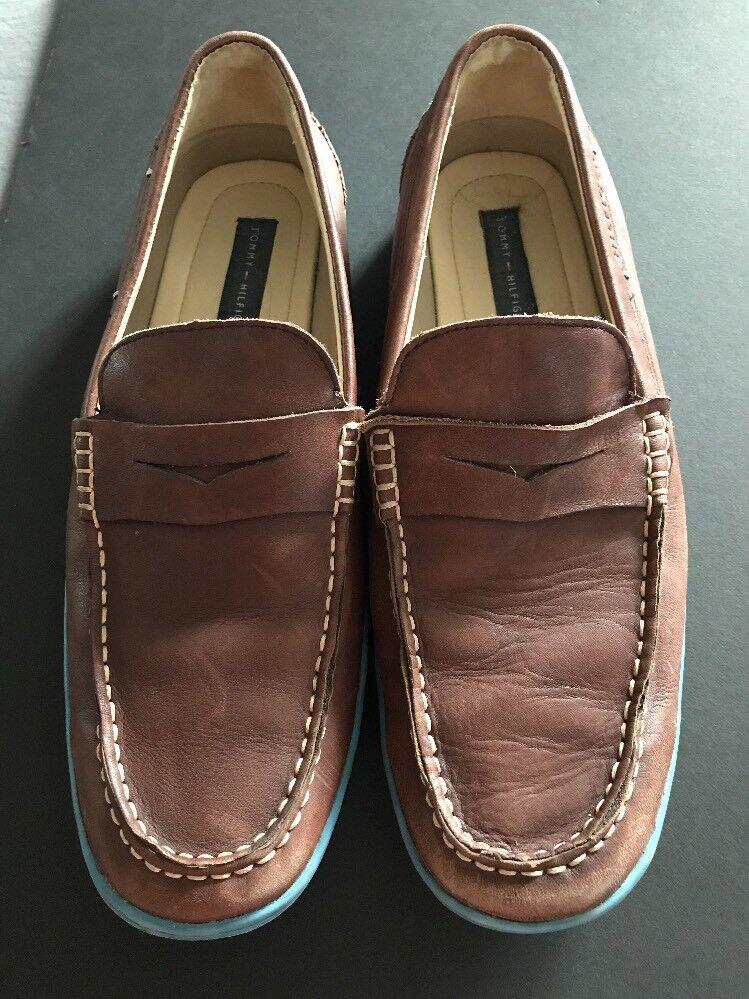 Tommy Hilfiger Wiltons On Men's Moccasin Loafer Slip On Wiltons Shoes Size 10.5 193402