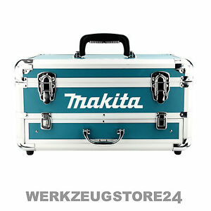 makita alu koffer mit schublade leer transportkoffer f r akkuschrauber werkzeug ebay. Black Bedroom Furniture Sets. Home Design Ideas