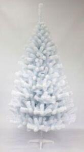 Sapin-de-Noel-100-cm-Artificiel-Pin-Blanc-Epinette-L-039-Arbre-Avec-En-Support-Neuf