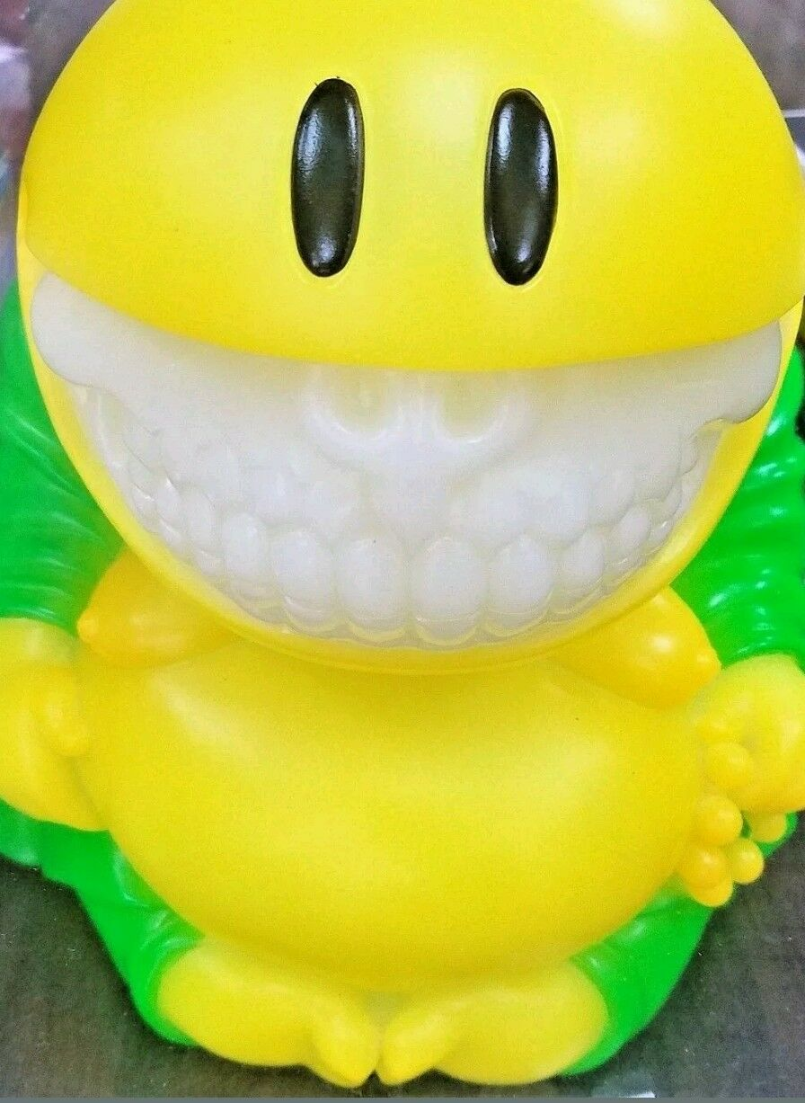 Ron English Collectormates Mad Happy Monk Grün Grin Exclusive Statue Mindstyle