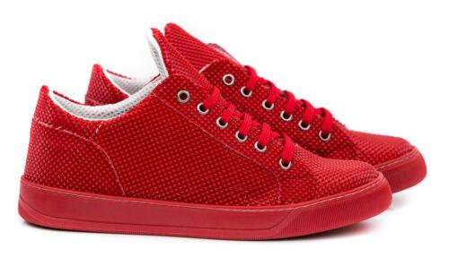 Scarpe Uomo Sneakers Vera Pelle Casual Francesine Ginnastica Sportive T10