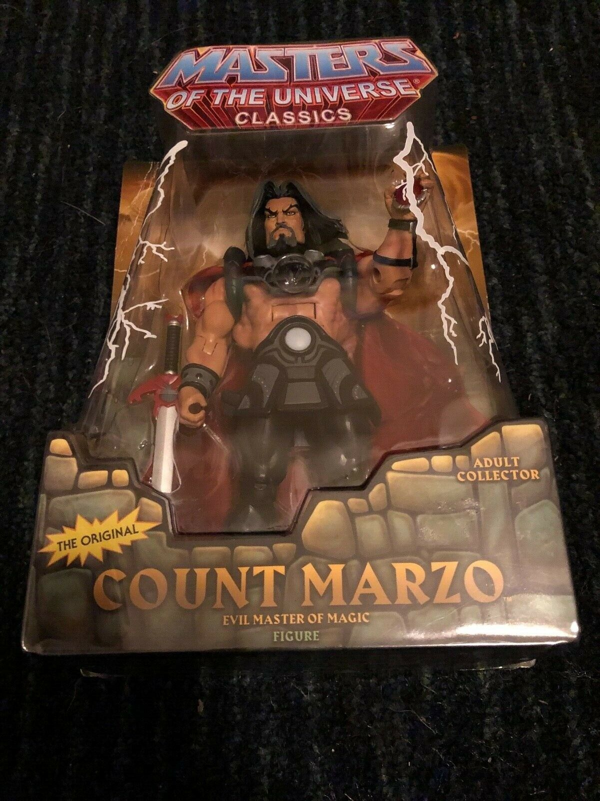 LOT OF 8 MASTERS MASTERS MASTERS OF THE UNIVERSE CLASSICS ACTION FIGURES, MOSSMAN CATRA ETC. NEW 1b5066