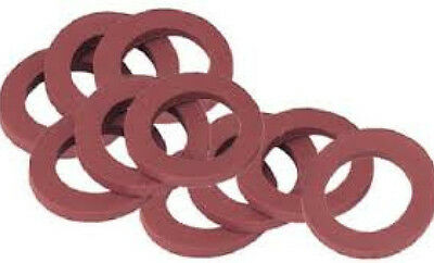 Lot of 10 Gilmour / Green Thumb 01RW Garden Water Hose Heavy Duty Rubber Washers