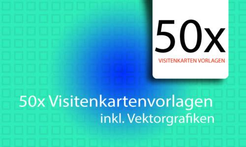 50x Visitenkarte Templates Vorlagen Visitenkarten Layout inkl PSD Dateien