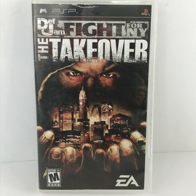 Def Jam Fight for NY The Takeover Video Game for Sony PSP Tested No Manual.