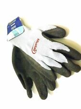 pair MUSTAD non-slip fishing gloves grip palm fish fishing cleaning one size