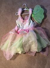 Disney Store Tinkerbell Dress Up Halloween Costume Size 4-6x