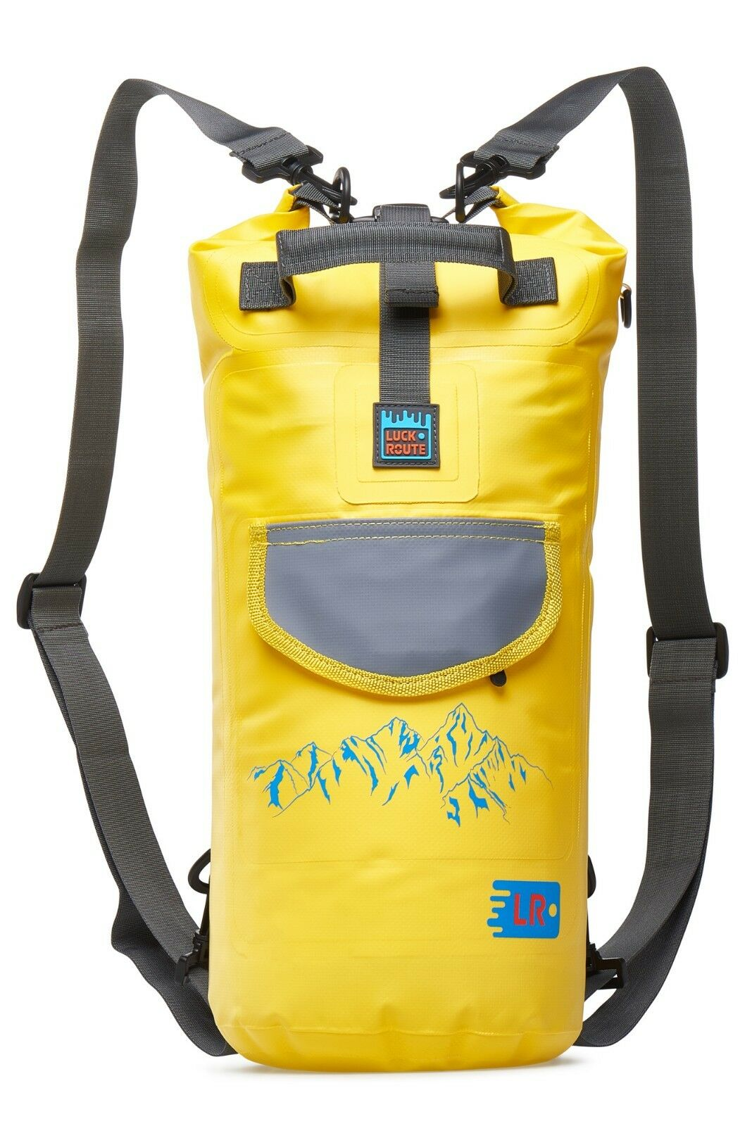 Luckroute Waterproof Dry Backpack Pockets Floating Bag Beach Fishing ... d7f8644b07237
