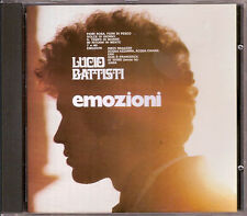LUCIO BATTISTI - EMOZIONI - RARO CD NO BARCODE