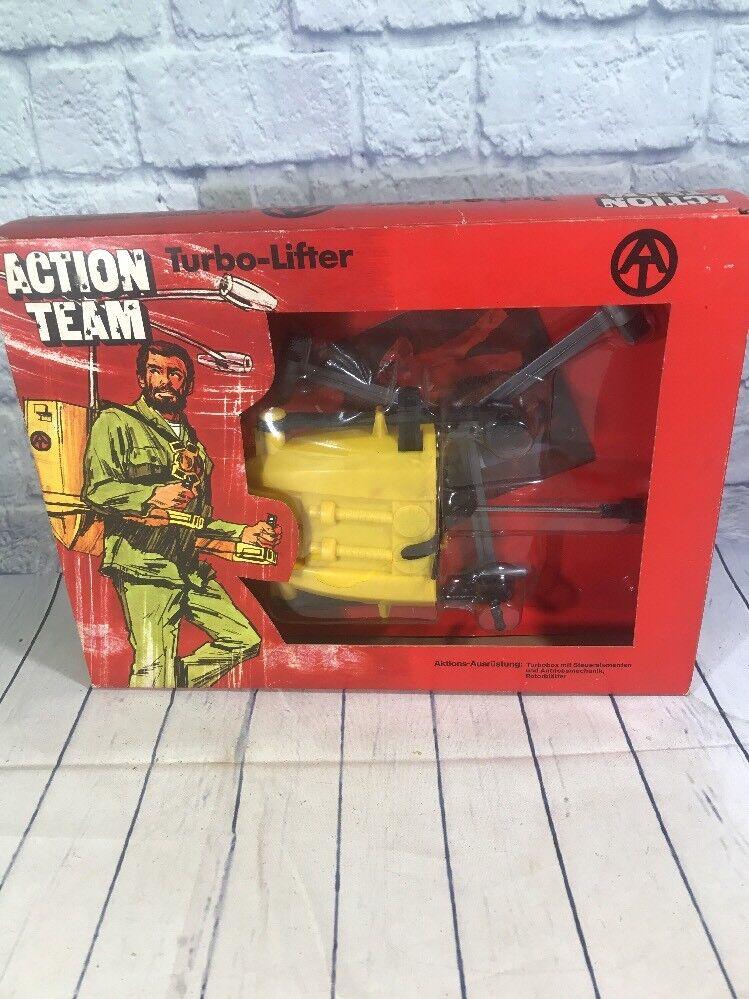 GI Joe Action Team  TURBO-LIFTER  1970 HASBRO nouveau  IN BOX  marque