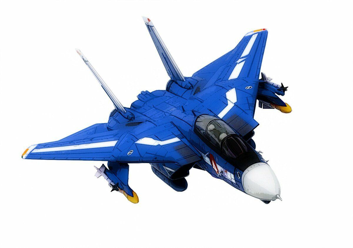 Calibre Wings CBW72RB03 1 72 F-14 Max TYPE MACROSS avec support