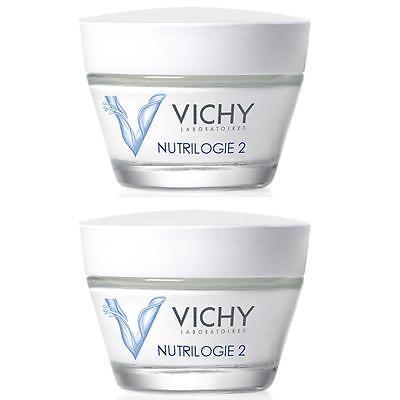 Vichy Nutrilogie 2 Creme 2x 50ml Intensiv Aufbaupflege für sehr trockene Haut