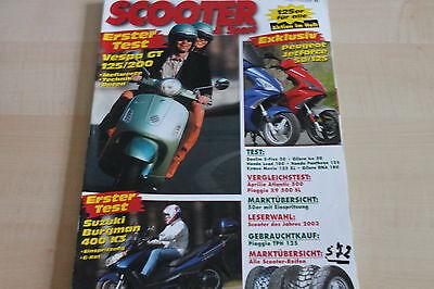 Scooter 03/2003 Auf Dem Internationalen Markt Hohes Ansehen GenießEn Ehrlich 152232 Suzuki Burgman 400 K3 Test Aprilia Atlantic 500