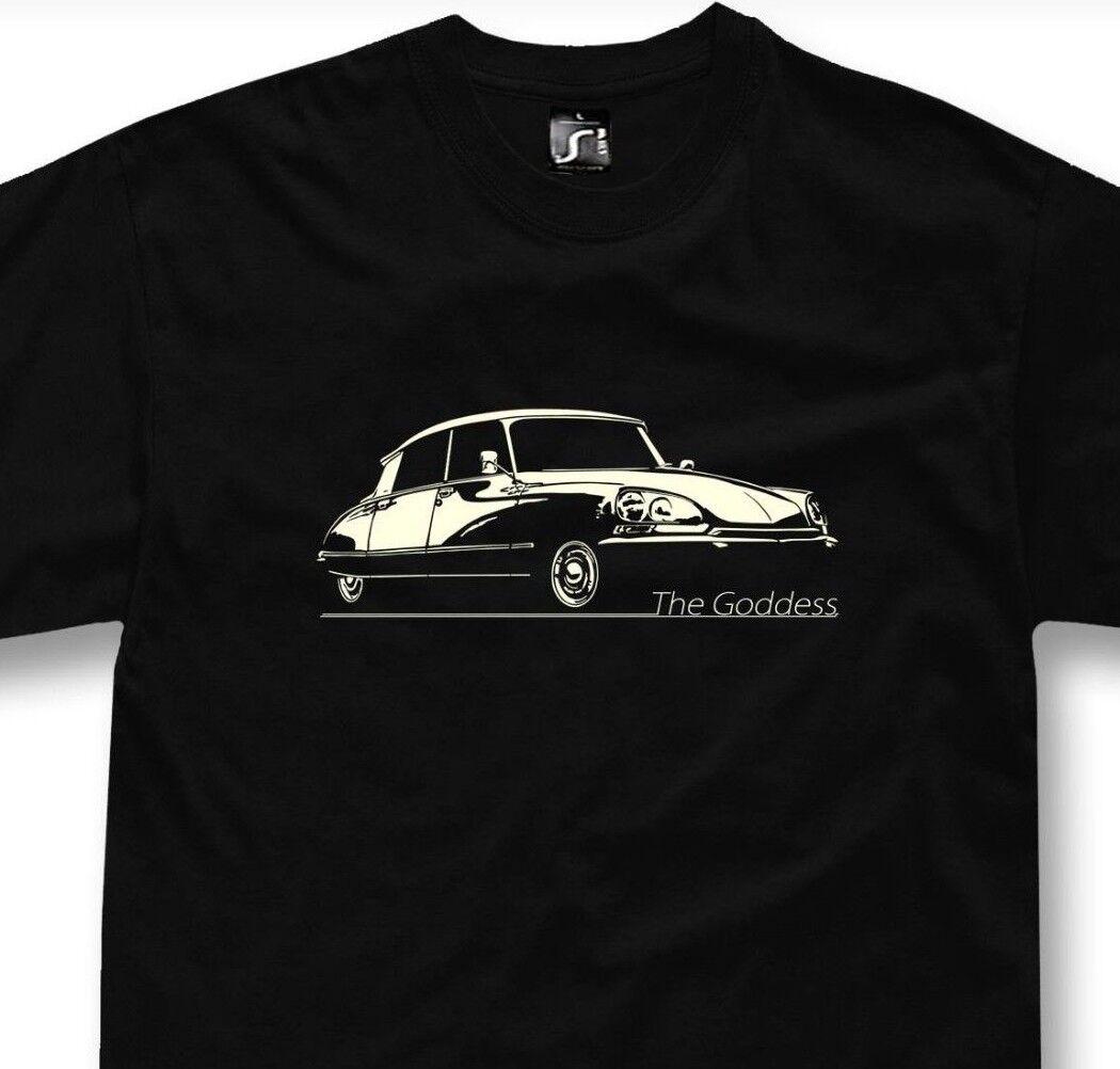 T-shirt for Citroen DS fans goddess la deesse classic car t shirt + sweatshirt