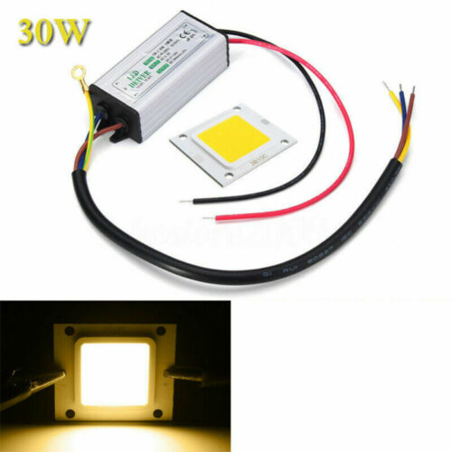 LED SMD Chip Bulb Waterproof 10W 20W 30W 50W High Power LED Driver Supply