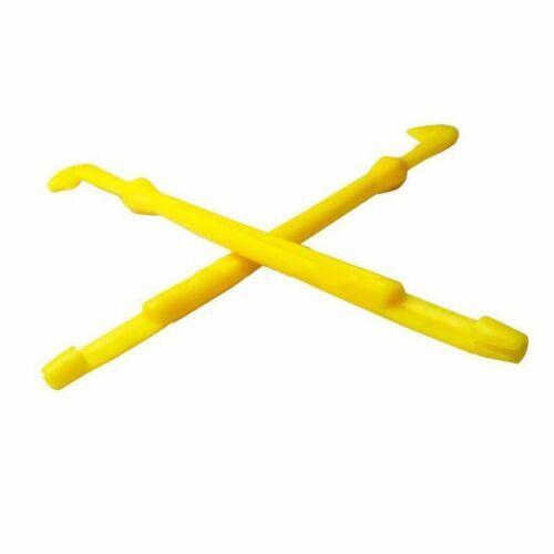 2pcs Set Plastik Haken Werkzeuge Fangen Schlaufe Binder Schnell Krawatte Gerät