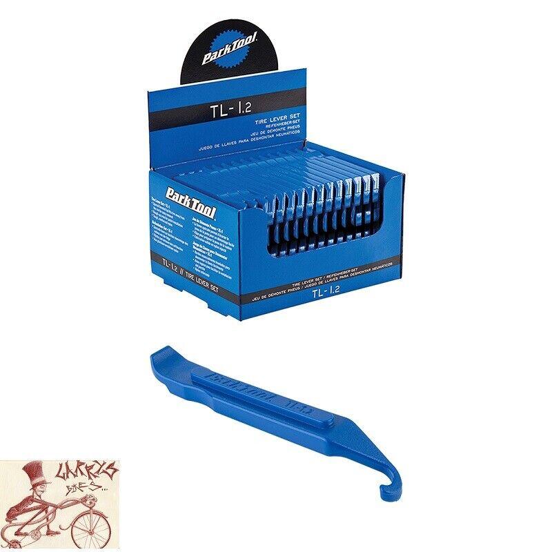 PARK TOOL Bicicleta Neumático Palancas De Nylon Azul TL-1.2 -- Caja de 25 Juegos