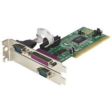 StarTech 2S1P PCI Serial Parallel Combo Card with 16550 UART (PCI-2S1P)